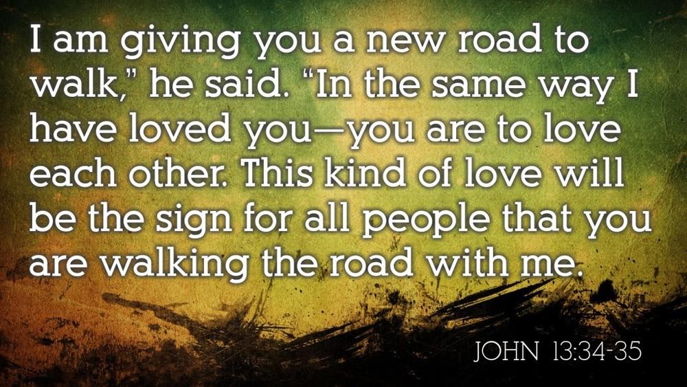 John 13:34-35 FNV