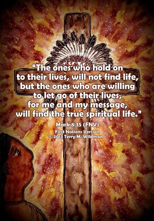 Mark 8:35 FNV