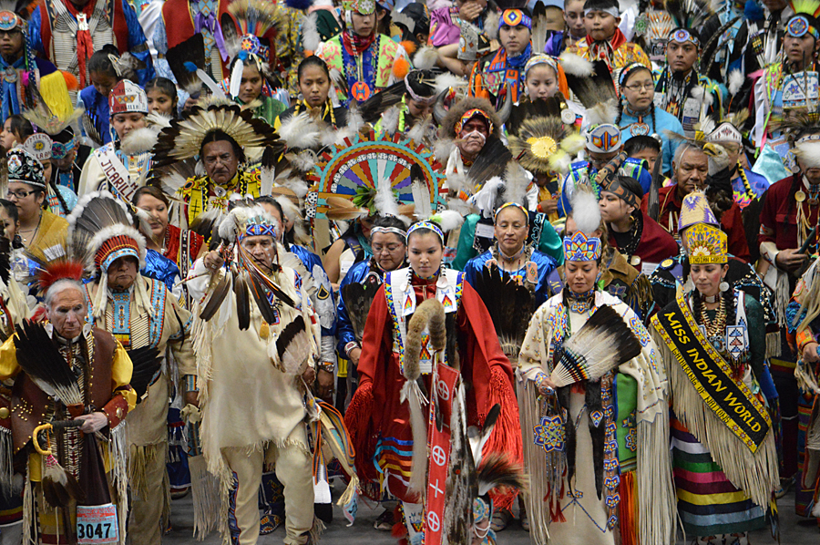 Gathering of Nations Grand Entry. Photo credit: Gathering of Nations