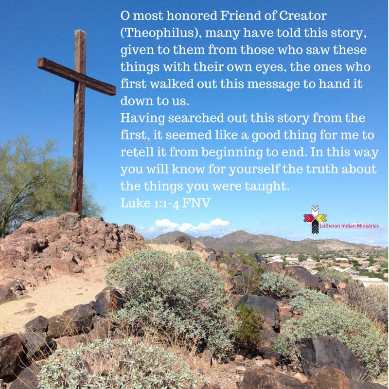 luke 1:1-4 fnv