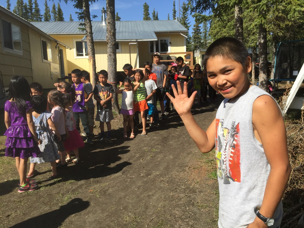 Kiana, Alaska native children