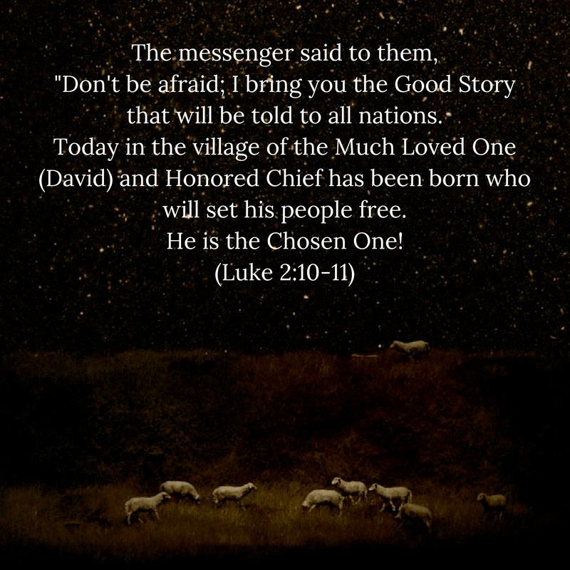 luke 2:10-11 fnv