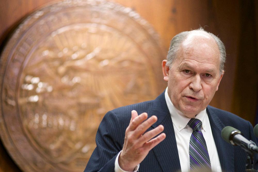 Alaska Governor Bill Walker. Photo credit: Michael Penn/AP