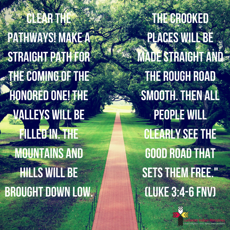Clear the pathways luke 3:4-6 fnv