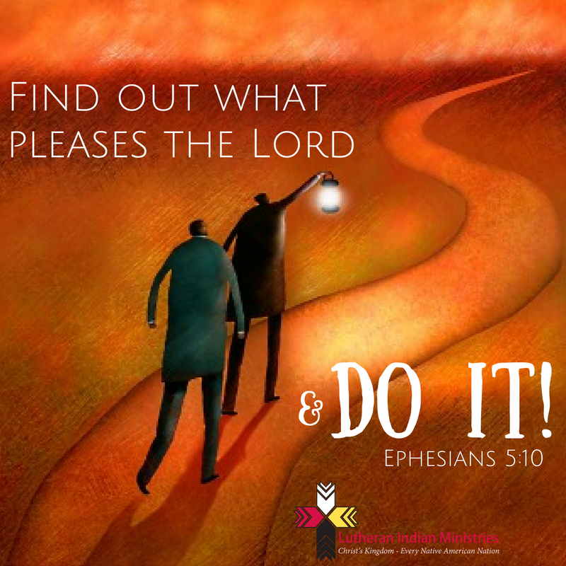find out what pleases the lord ephesians 5:10