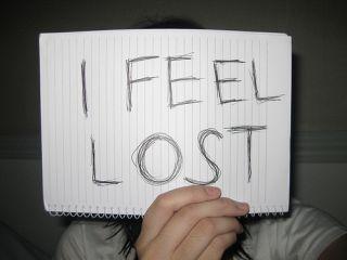 i feel lost