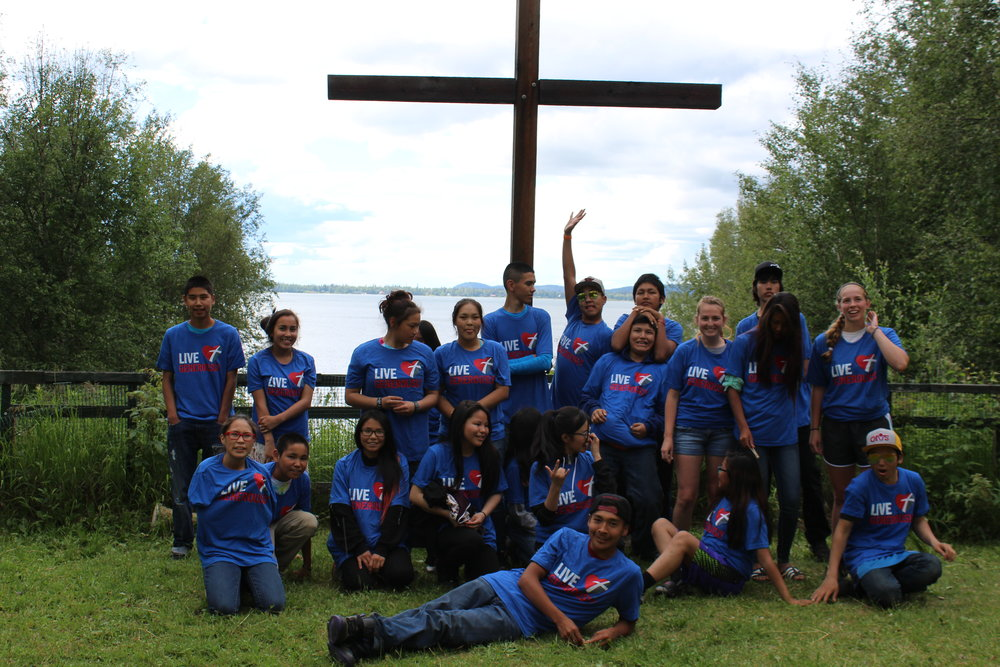 Teen Camp Lutheran Indian Ministries