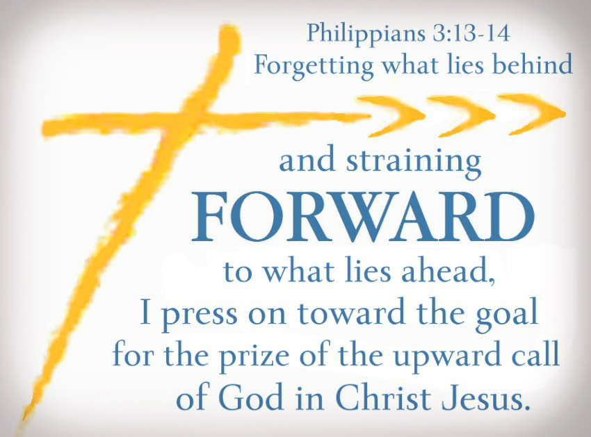 philippians 3:13-14 press on