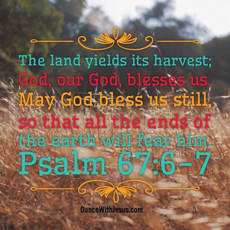 psalm 67:6-7