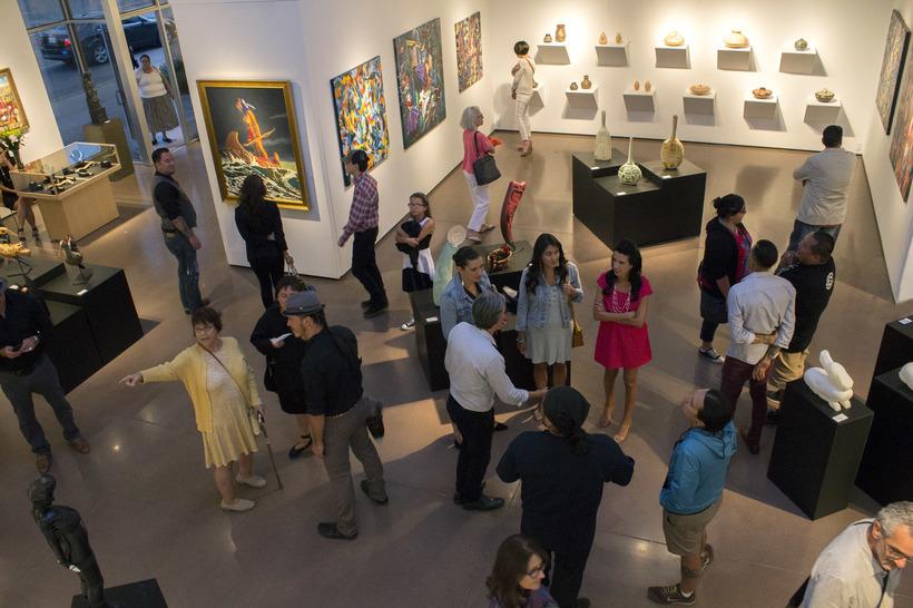 blue rain art gallery named top 25 in america