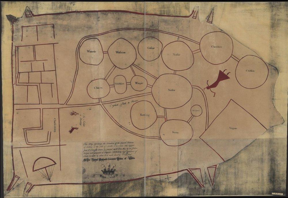 deerskin native map lutheran indian ministries
