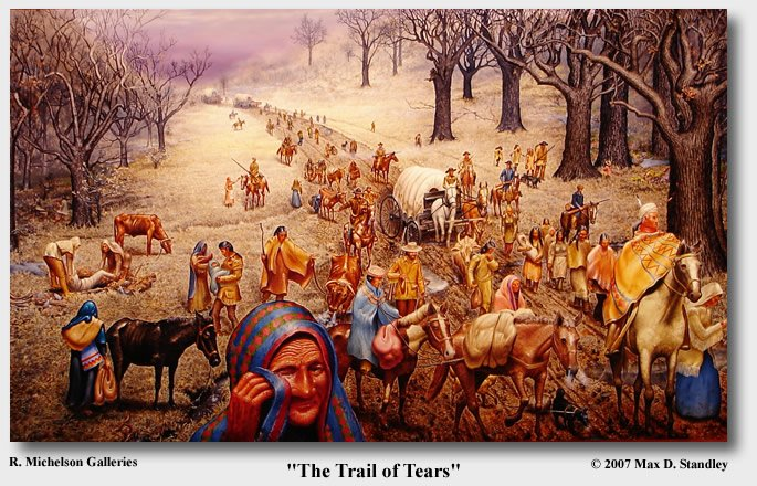 trail of tears what does indian removal look like today educational resource lutheran indian ministries