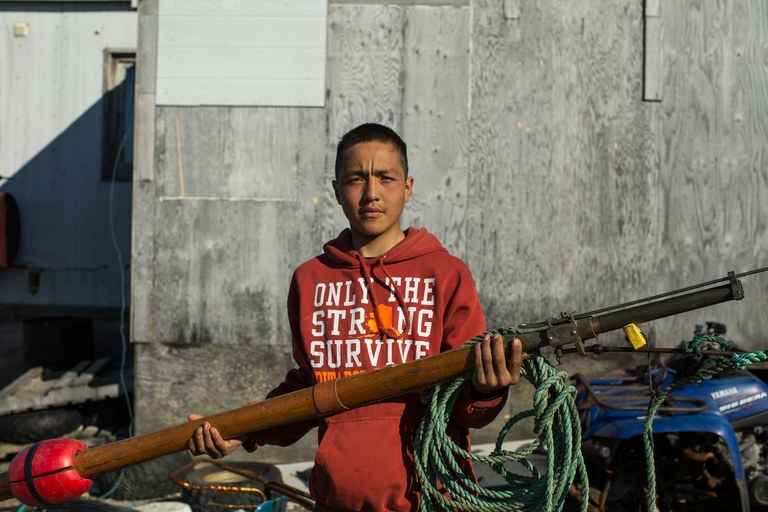16 year old alaska native receives death threats for whale hunting lutheran indian ministries