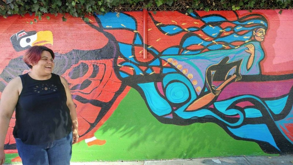 vancouver indigenous murals tell their story the drum is calling fest lutheran indian ministries
