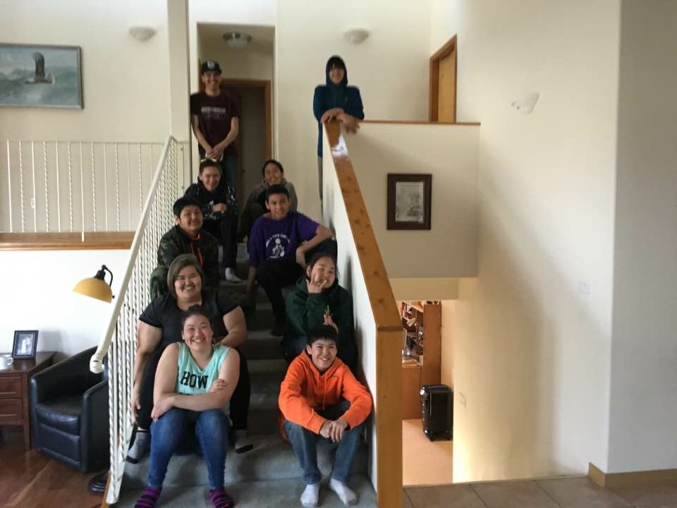alaska native students volunteers to alaska lutheran indian ministries