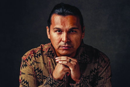 Adam Beach. (Jason Myers/Courtesy Cowboys & Indians)