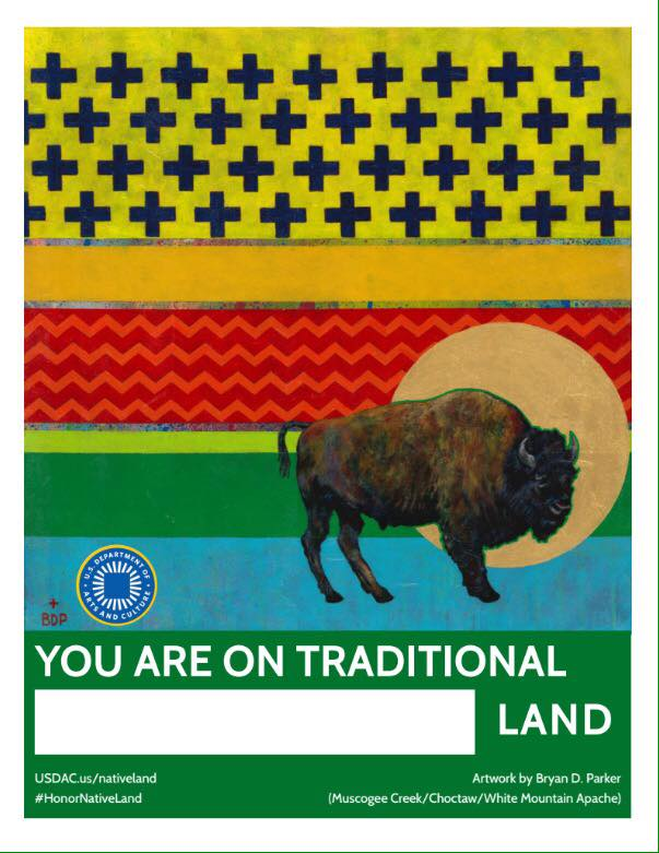 you're on traditional land poster lutheran indian ministries