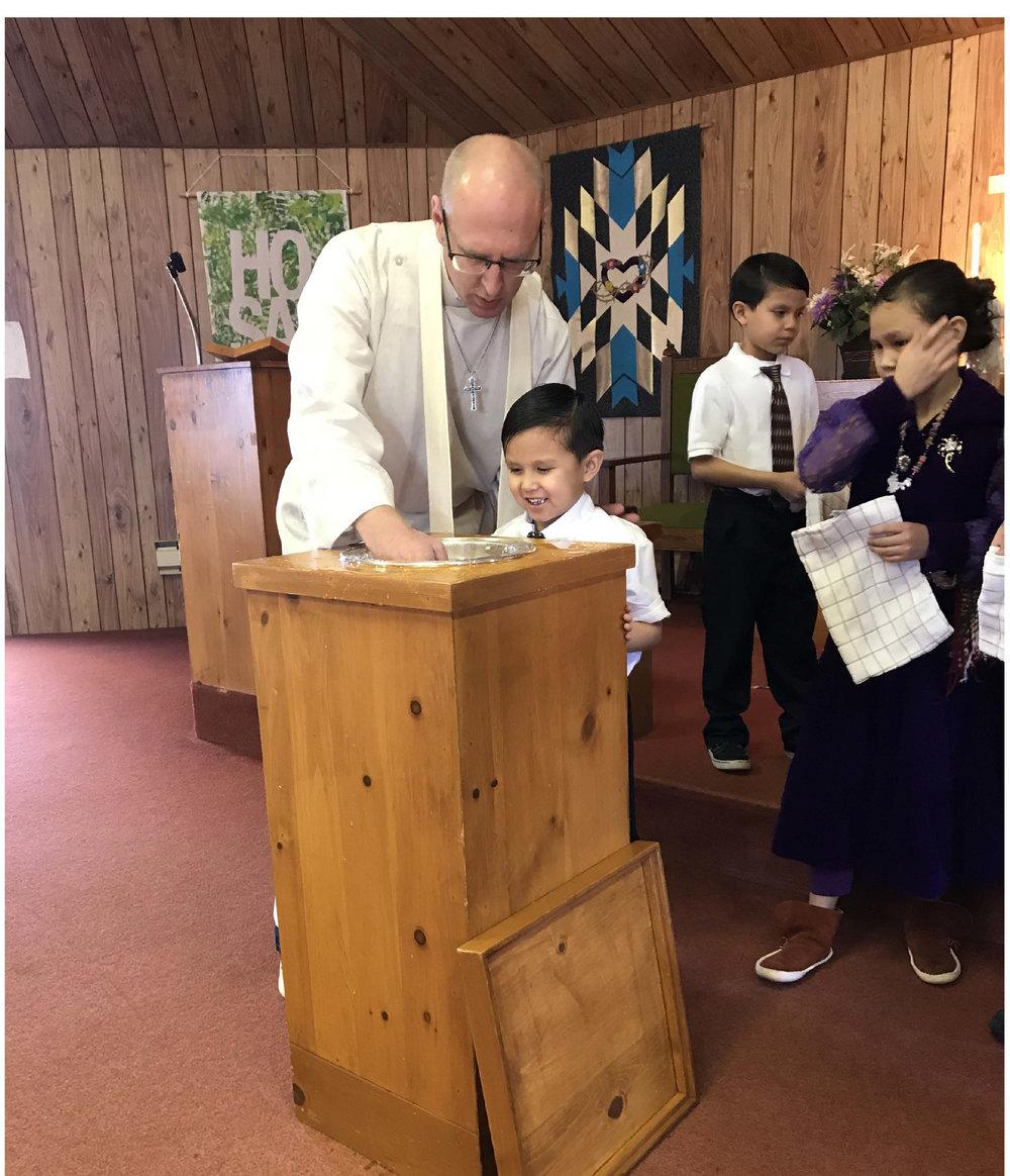 family baptism navajo 0118