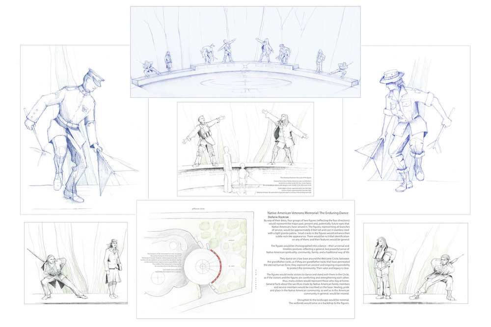 """The Enduring Dance,"" design proposal by Stefanie Rocknak"