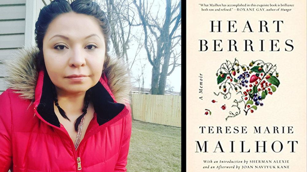 """Heart Berries"" by Terese Marie Mailhot (Counterpoint) lutheran indian ministries native news"