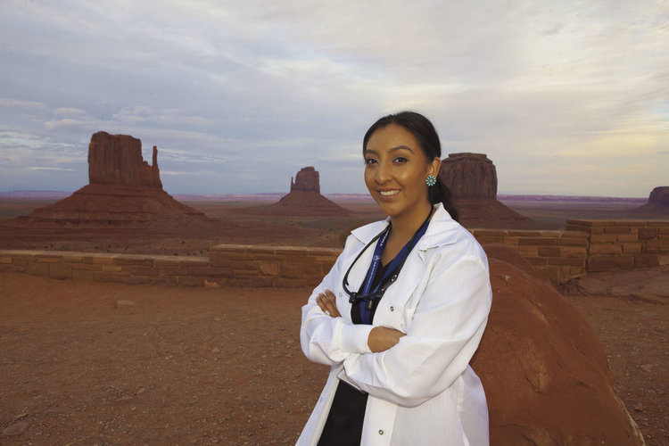 Crystal Willie Sekaquaptewa is the first Native American woman dentist in  the Utah Navajo Health System