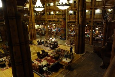 Disney's Wilderness Lodge was inspired by rustic architecture, which incorporated authentic Native American elements. lutheran indian ministries native news