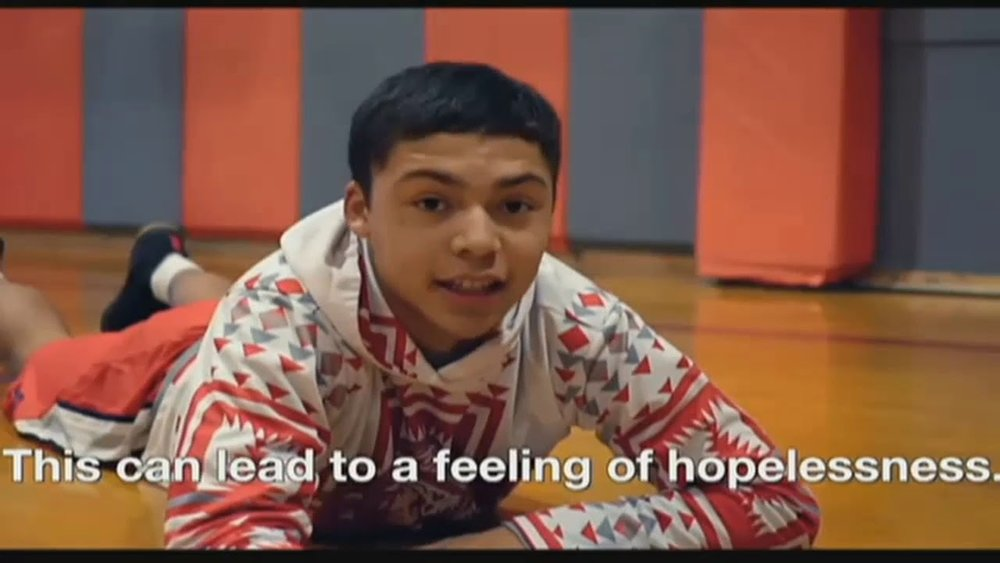 Arlee Warriors basketball team video about suicide prevention goes viral lutheran indian ministries native news
