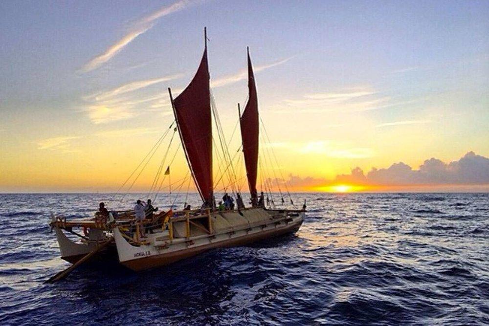 Video footage of He Moku He Wa'a, He Wa'a He Moku which will be seen on Hawaiian Airlines flights through June 2018. Footage from Nāʻālehu Anthony | ʻŌiwi TV lutheran indian ministries native news