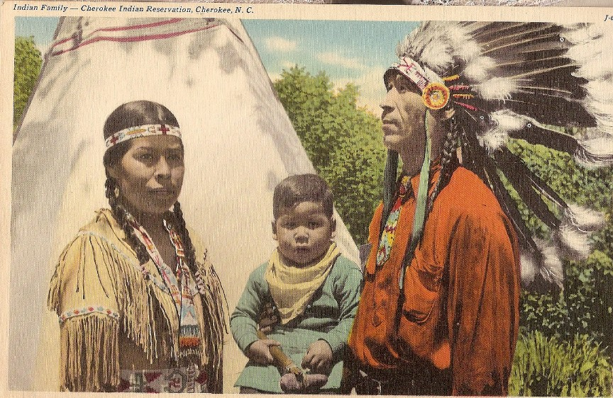 Cherokee_family.jpg postcard lutheran indian ministries native news why do so many claim cherokee blood