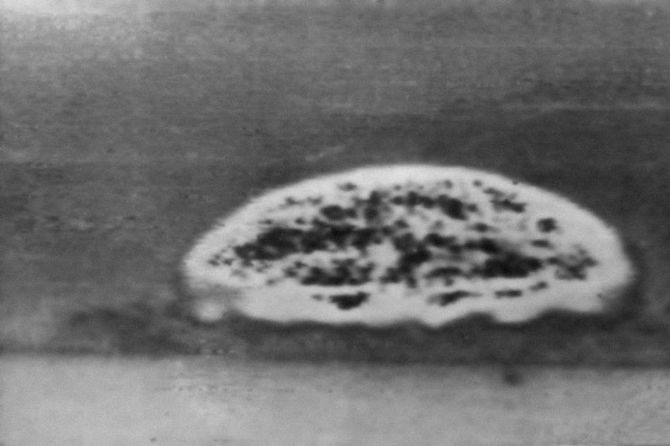 FILE - This July 16, 1945, file photo, taken 6 miles away shows the first atomic bomb explosion at the Trinity Test Site in Alamogordo, N.M. Carrizozo, New Mexico, a small railroad town that received a large part of the residue from the world's first atomic test wants to share its story as advocates work to gather more information how the 1945 Trinity Test affected generations of Hispanic and Native American residents. Advocates seeking recognition for the harms caused by the World War II-era test are trying to gather stories from residents of the tiny town. (AP Photo/File) The Associated Press lutheran indian ministries native news
