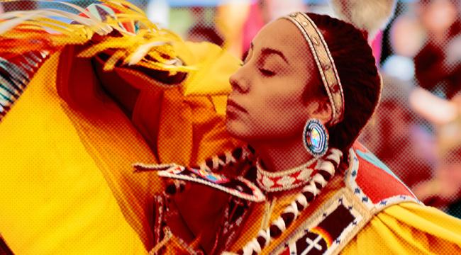 na-grid-uproxx.jpg powwow dancer ISTOCKPHOTO lutheran indian ministries native news