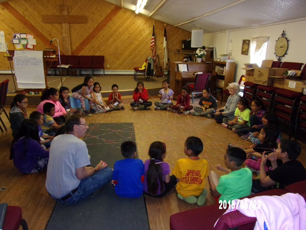 activities kiana vbs alaska lutheran indian ministries native