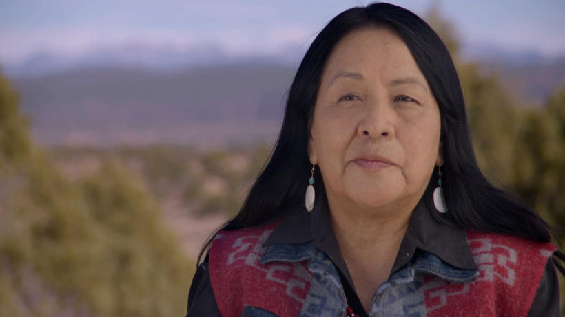 """Veronica Velarde Tiller, shown in a scene from """"A Thousand Voices,"""" a PBS documentary about Native American women, created a guide to contemporary Indian tribes. lutheran indian ministries native news"""