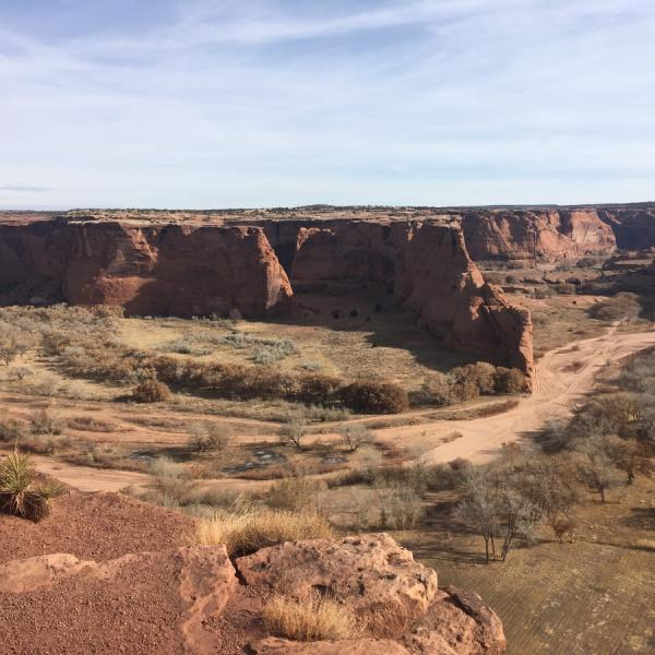 Canyon de Chelly, in Chinle, Arizona. Here, Kit Carson infamously burned the Navajo peach orchard. | (Alix Blair/Courtesy PRI) lutheran indian ministries native news