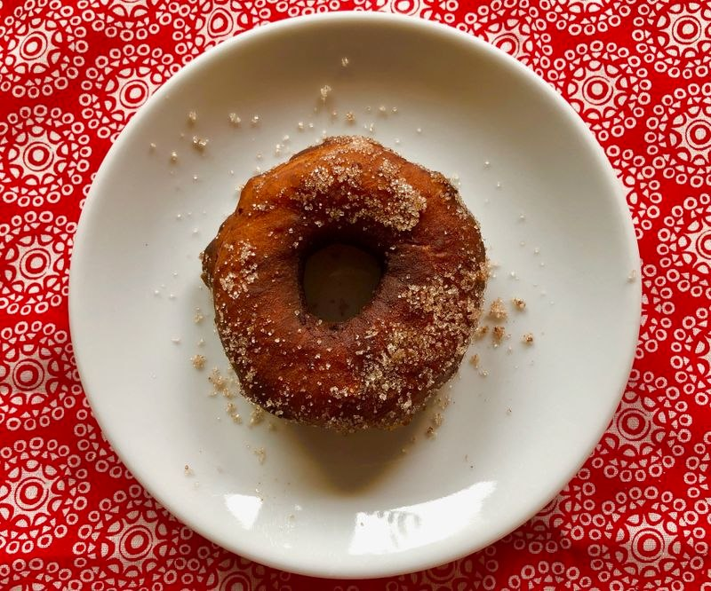 Sunshine doughnut, adapted from the King Cove Women's Club cookbook published in 1978. (Julia O'Malley/ADN)