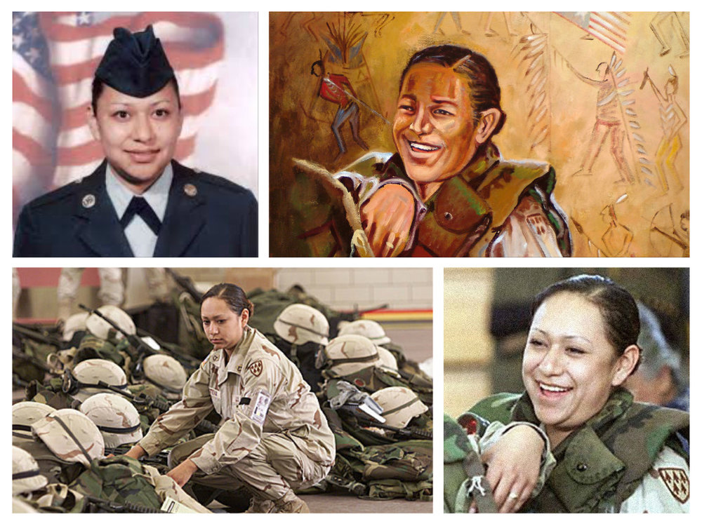 Specialist Lori Ann Piestewah (December 14, 1979 – March 23, 2003) was a U.S. Army Quartermaster Corps soldier killed during the same Iraqi Army attack in which fellow soldiers Shoshana Johnson and Jessica Lynch sustained injuries. A member of the Hopi tribe, Piestewa was the first Native American woman in history to die in combat while serving with the U.S. military and the first woman in the U.S. armed forces killed in the 2003 invasion of Iraq. Arizona's Piestewa Peak is named in her honor.
