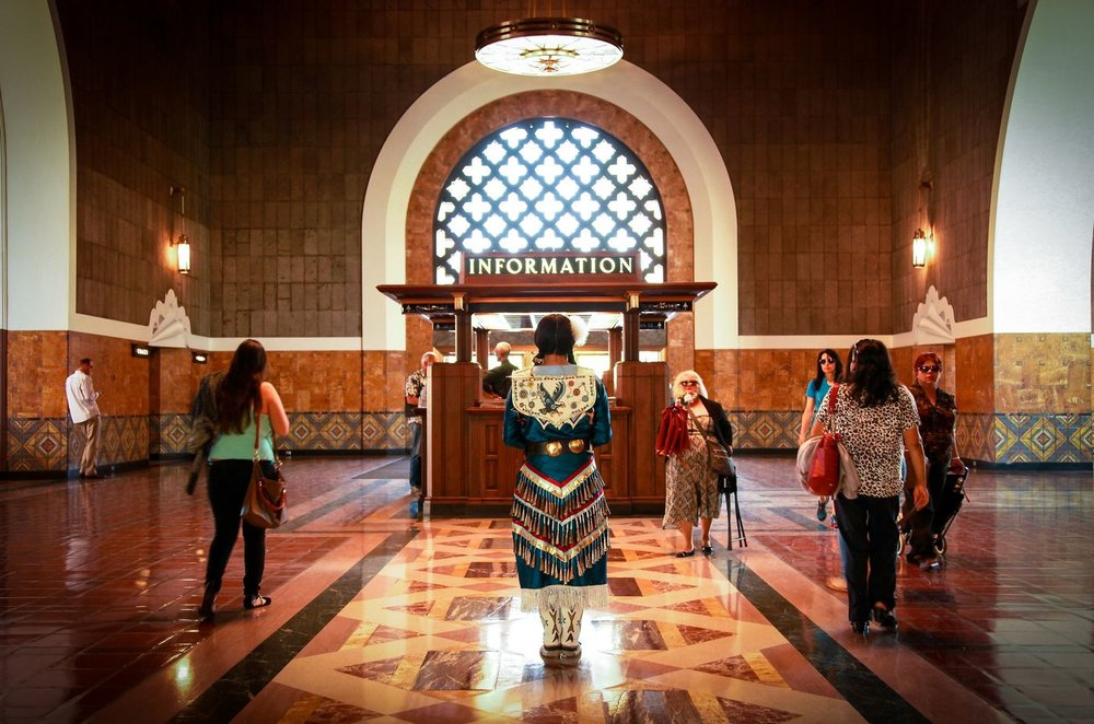Viki Eagle, a Lakota and Japanese woman, is featured in part of a photographic series by Navajo artist Pamela J. Peters about mixed-race Native Americans living in Los Angeles. (Pamela J. Peters) lutheran indian ministries native news