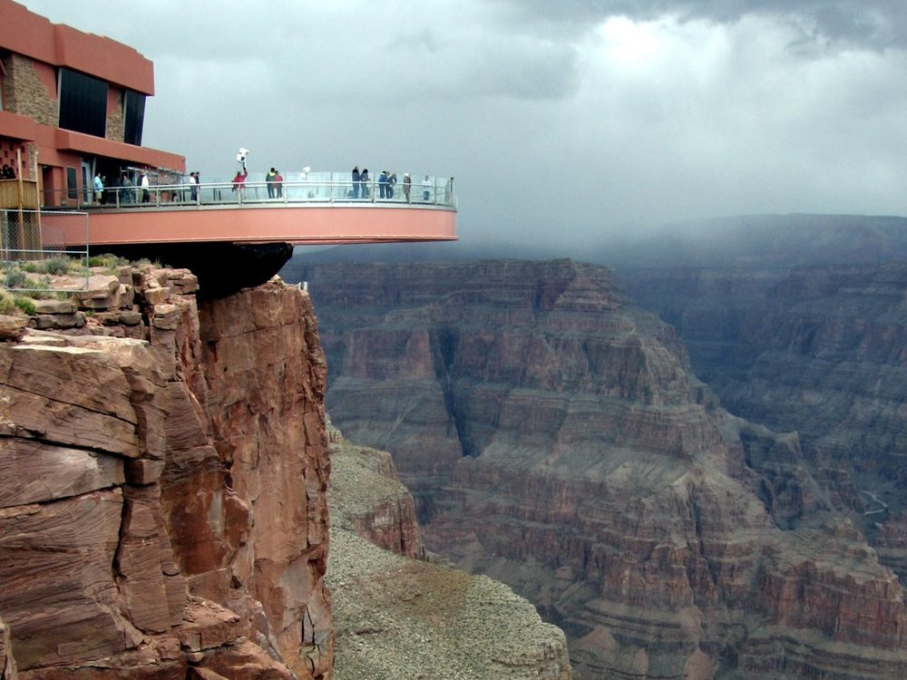 The Grand Canyon Skywalk is built on sacred Hualapai land. Flickr/Ariane Middel lutheran indian ministries native news