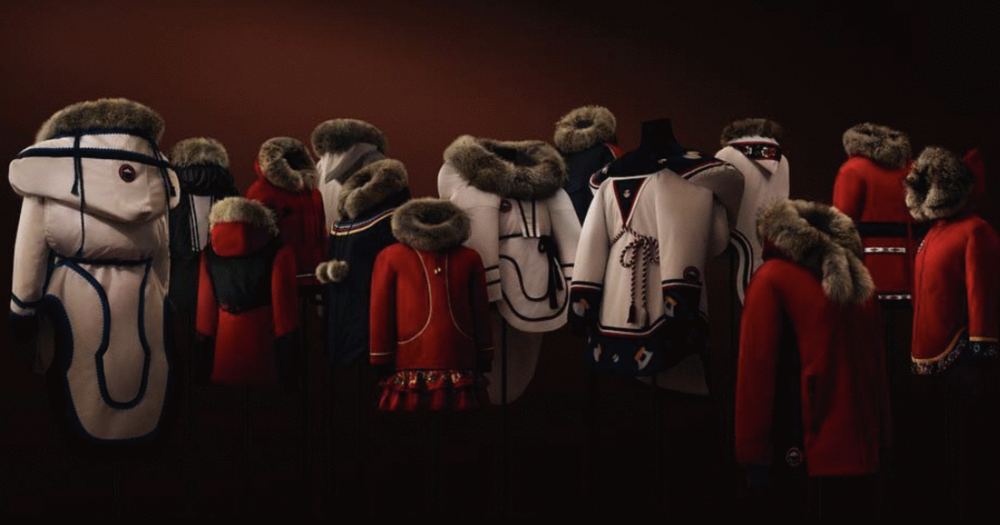 Canada Goose's Project Atigi Collection deisgned by Inuit Designers. (@CanadaGoose | Instagram)