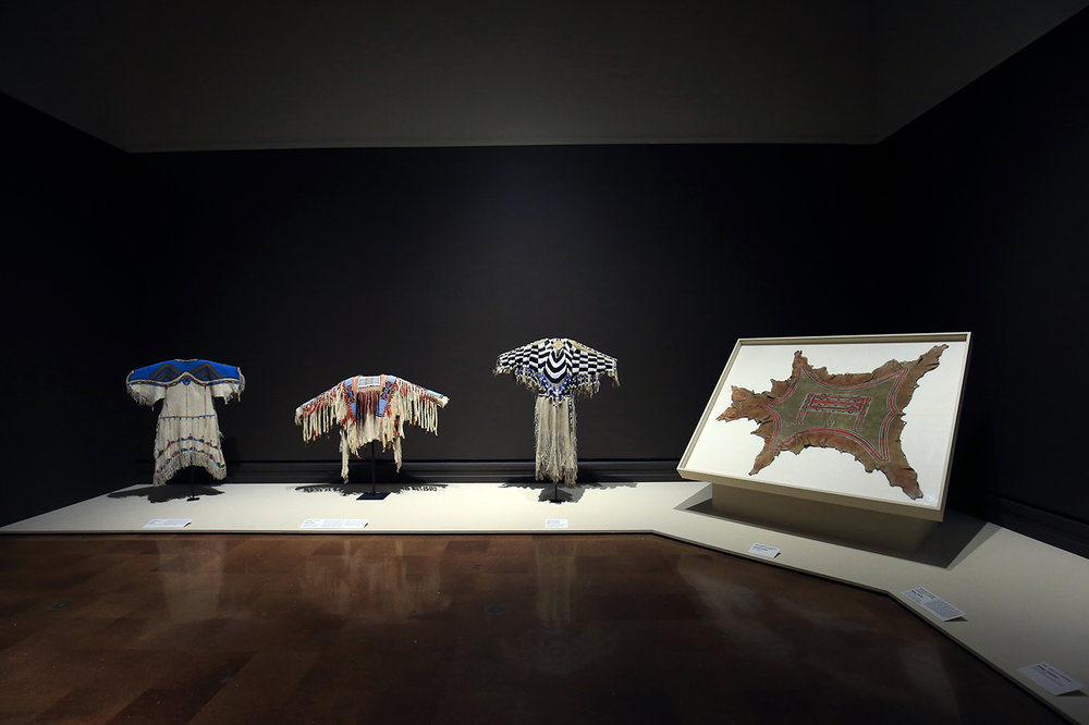 lutheran indian ministries native news - Installation view of Indigenous Beauty (2015), (photo courtesy Toledo Museum of Art)