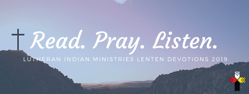 lutheran indian ministries lenten devotions 2019 cross on a hill