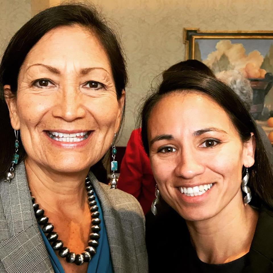 lutheran indian ministries native news - Rep. Deb Haaland (Laguna Pueblo and Rep. Sharice Davids (Ho-Chunk)