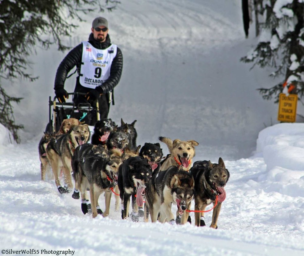 Pete Kaiser became the first Yup'ik musher March 13 to win the Iditarod, North America's premier long-distance sled dog race.  Photo: Silver Wolf Photography