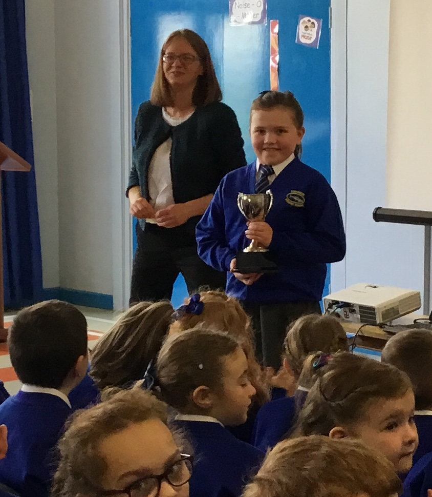 Molly  - winner of Accelerated Reading Cup