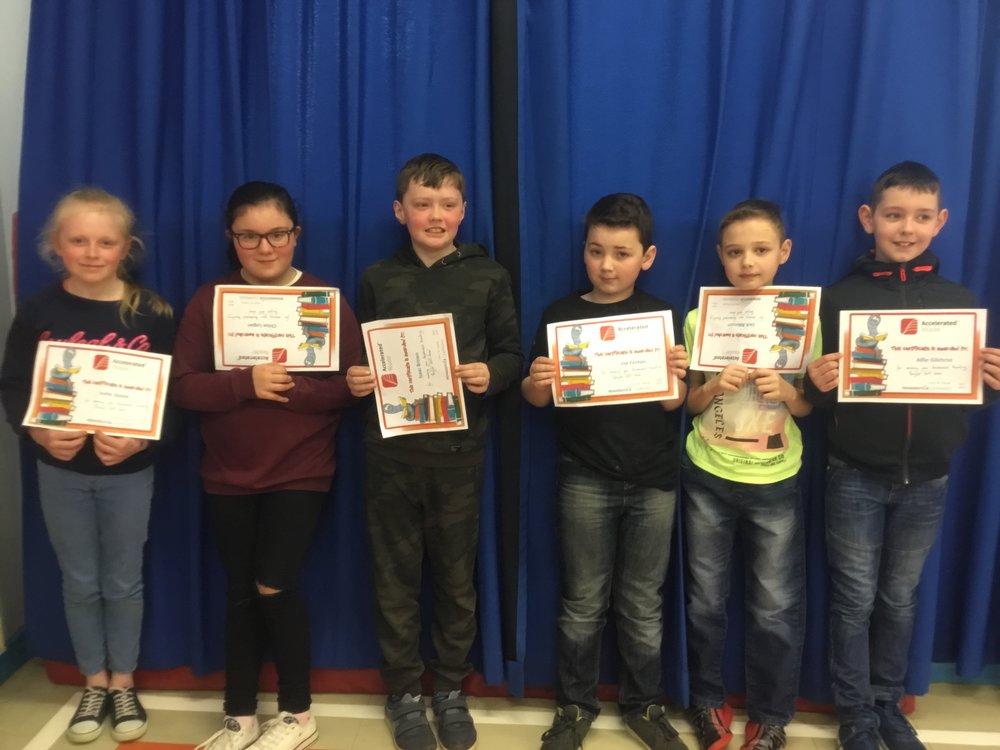 P6 Certificate Winners
