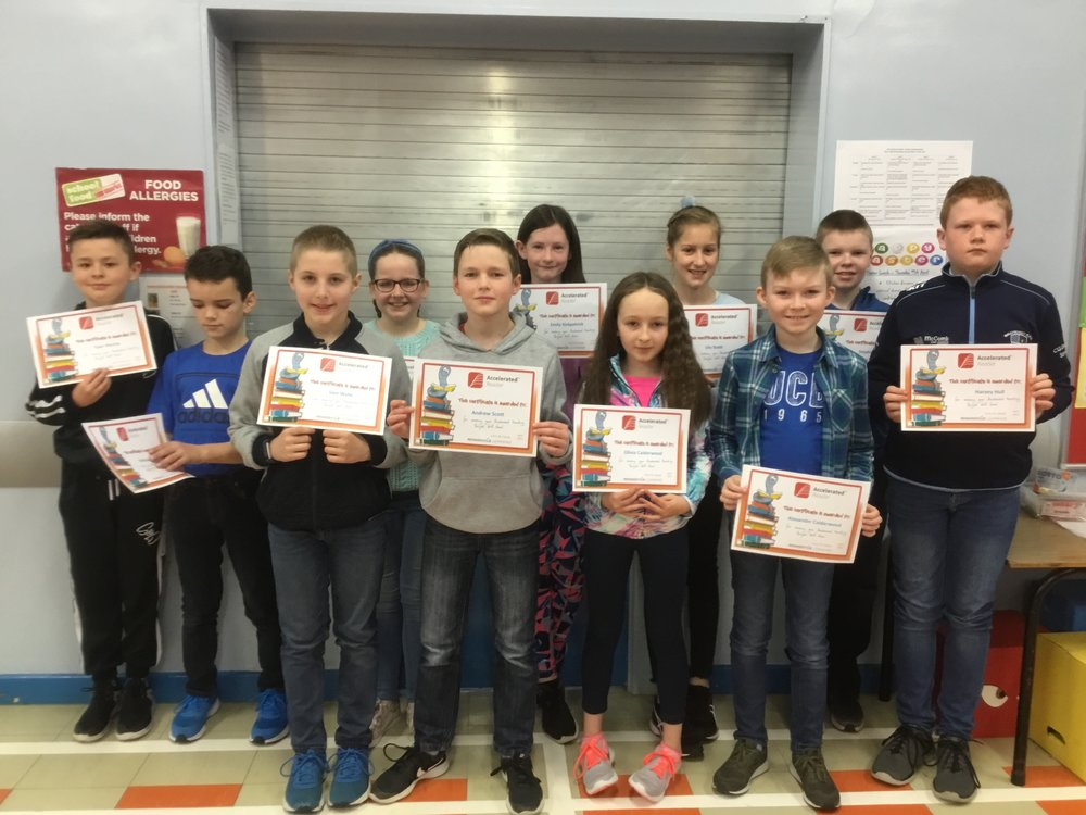 P7 Certificate Winners