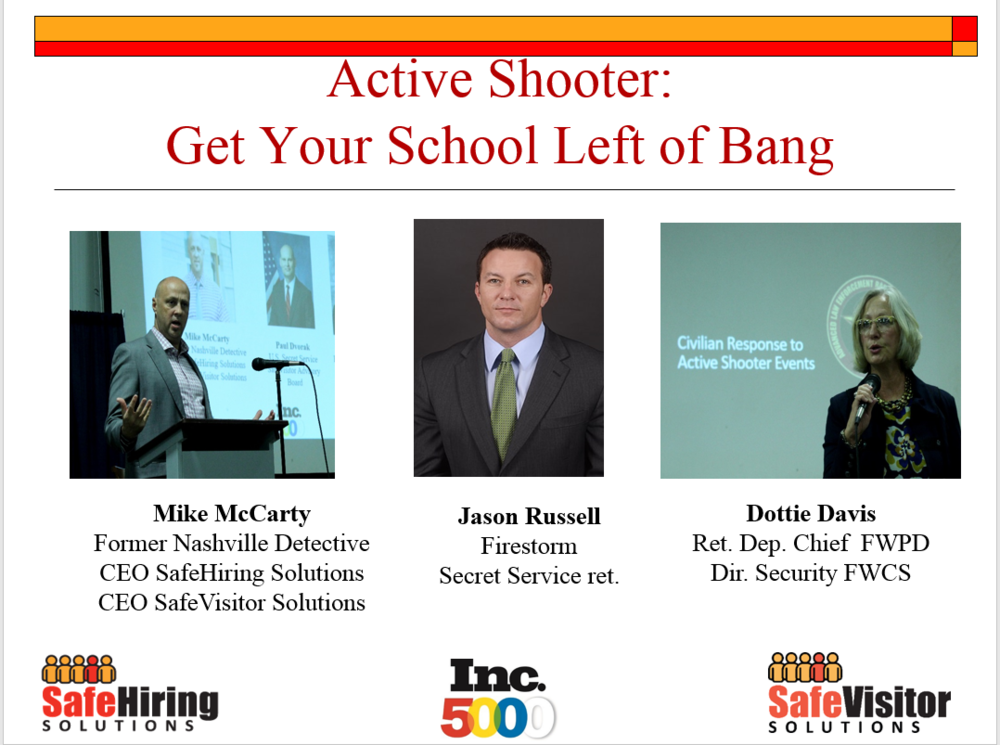 School Active Shooters: Getting