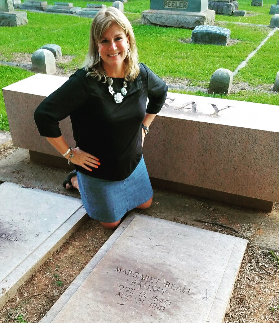 Driving through North Carolina, we found the grave of my great grandmother, after whom I am named. This was an awesome bucket list find!