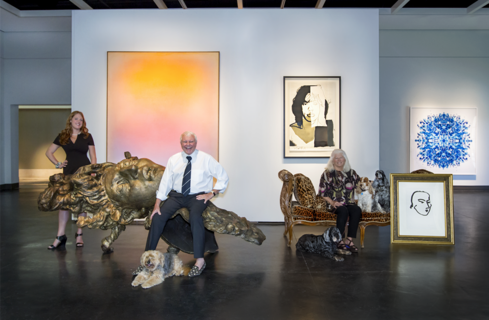 with my co-workers at J. Johnson Gallery | Jacksonville Beach, Florida  image: Jessie Preza