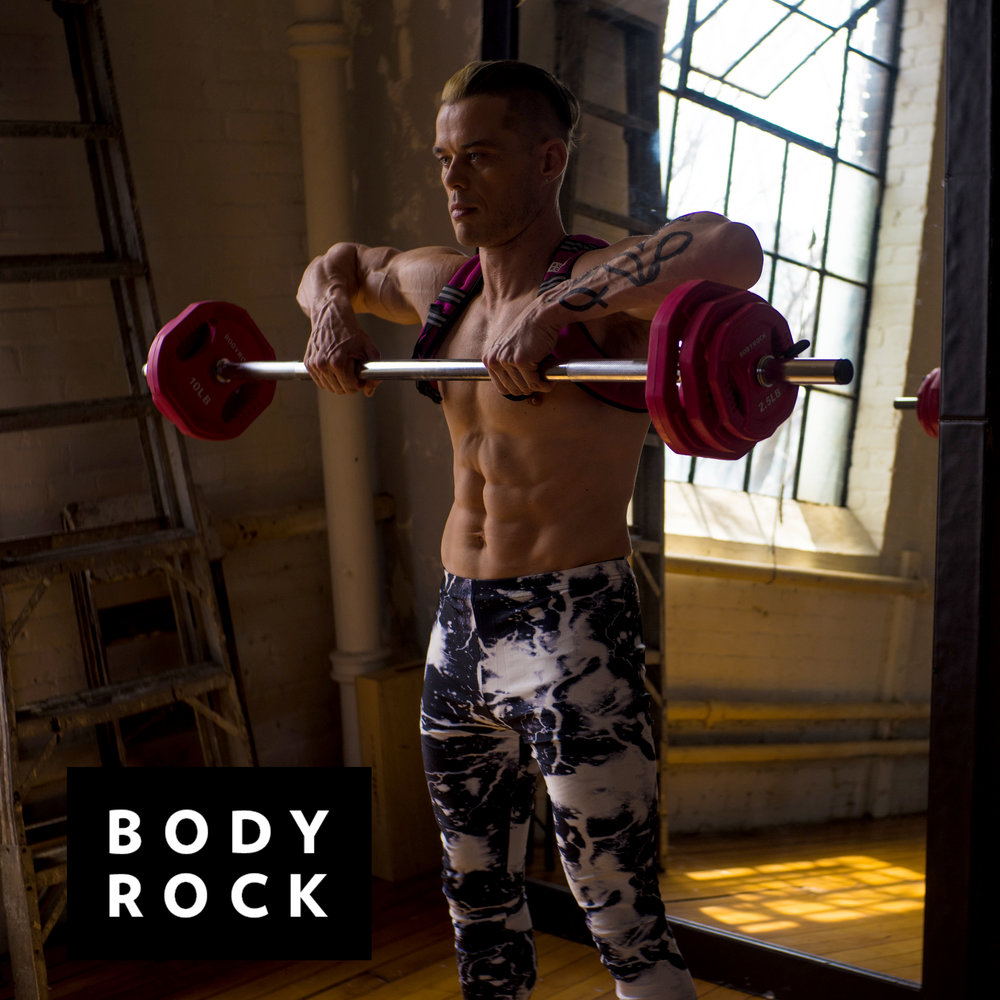 Sean  for  BodyRockTV  in  Kapow Meggings at  Version1